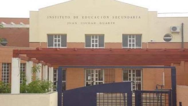 """Escrito remitido al IES """"Juan Ciudad Duarte"""" (Bormujos)"""