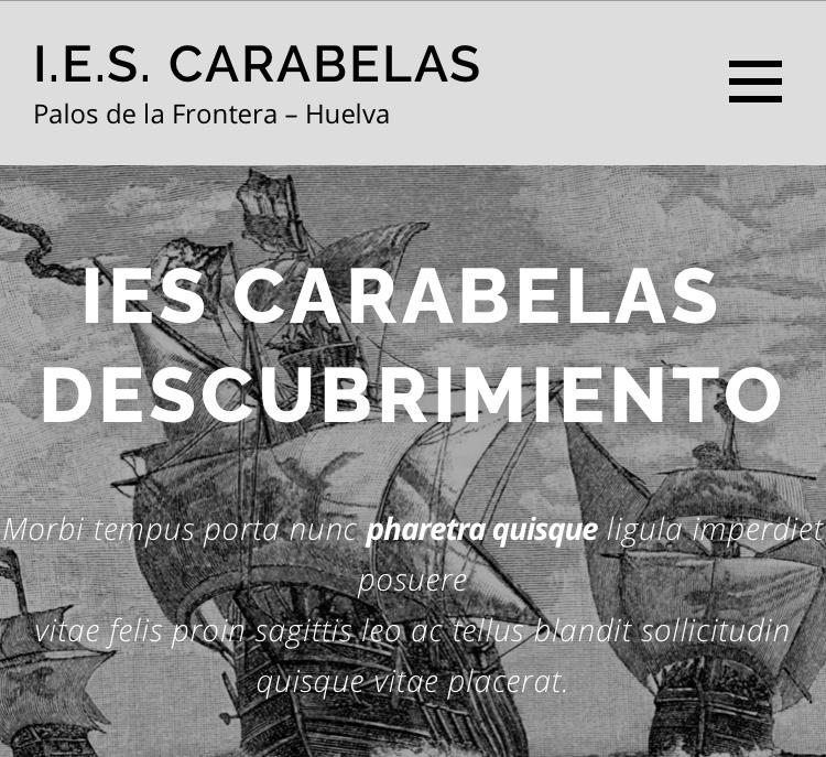 Griego I en el IES «Carabelas» (Palos de la Frontera)